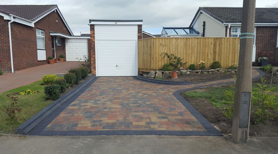 Block Paved Driveways in Carlisle, Cumbria and the North East