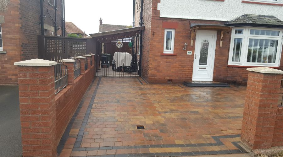 Block Paving Driveways in Carlisle, Cumbria and the North East