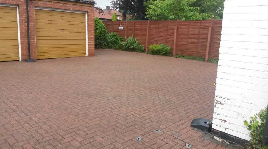 Block Paving Sealing in Carlisle, Cumbria and the North East