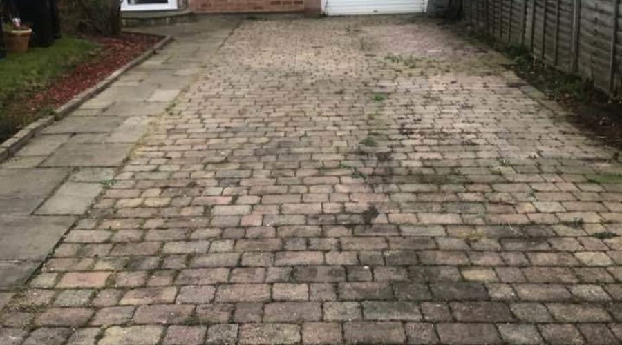Driveway Cleaning in Carlisle, Cumbria and the North East