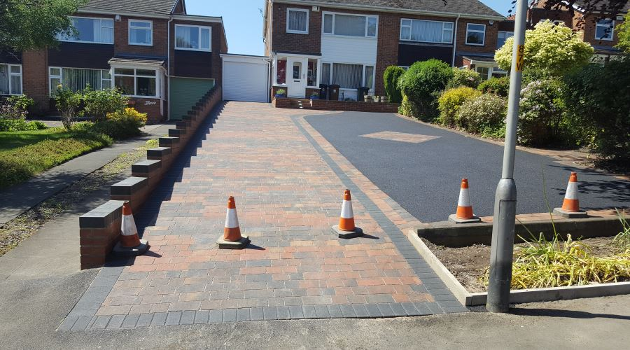 Picture Frame Tarmac Driveways in Carlisle, Cumbria and the North East